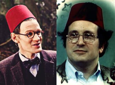 Dr. Who/Dr. Sussman fez comparison